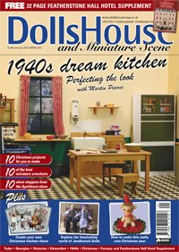Dolls' House and Miniatures Scene Jan 2013 Issue 223 - Click Image to Close