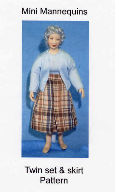 Twin Set and Skirt Dress Pattern - Click Image to Close