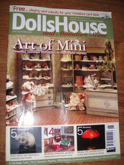 The Dolls House Magazine June 2013 Issue 181 - Click Image to Close