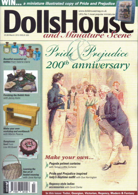 Dolls' House and Miniatures Scene Issue 225 March 2013 - Click Image to Close